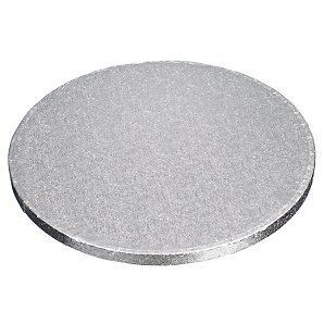 "12"" Round Silver Cake drums - 5pack"