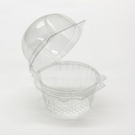 Clear Single muffin pods 6 pack