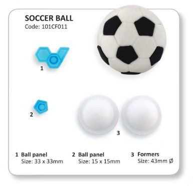 JEM - 3D Soccer Ball / Football Cutters