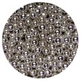 SUGARED BALLS  SILVER 4MM  30G